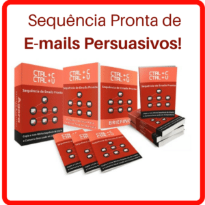 sequencia de e-mail pronta
