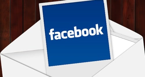 email do facebook