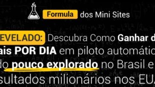 fórmula dos mini sites