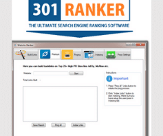 Poderoso WebSite Ranker Criador Ilimitado de Backlinks